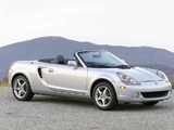 Toyota MR2 Spyder US-spec 2002–05 wallpapers