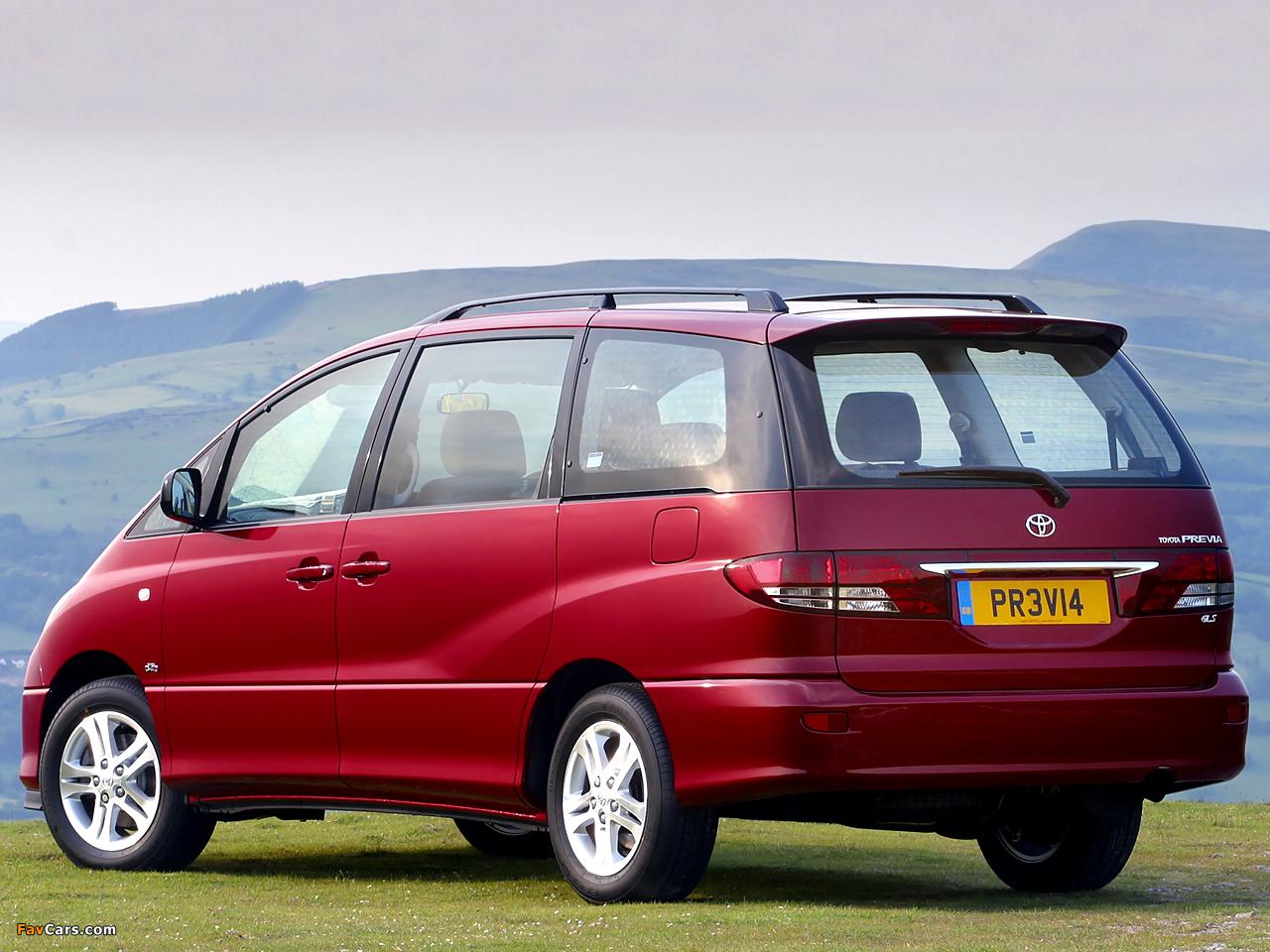 Toyota Previa UK-spec 2005–07 photos (1280 x 960)