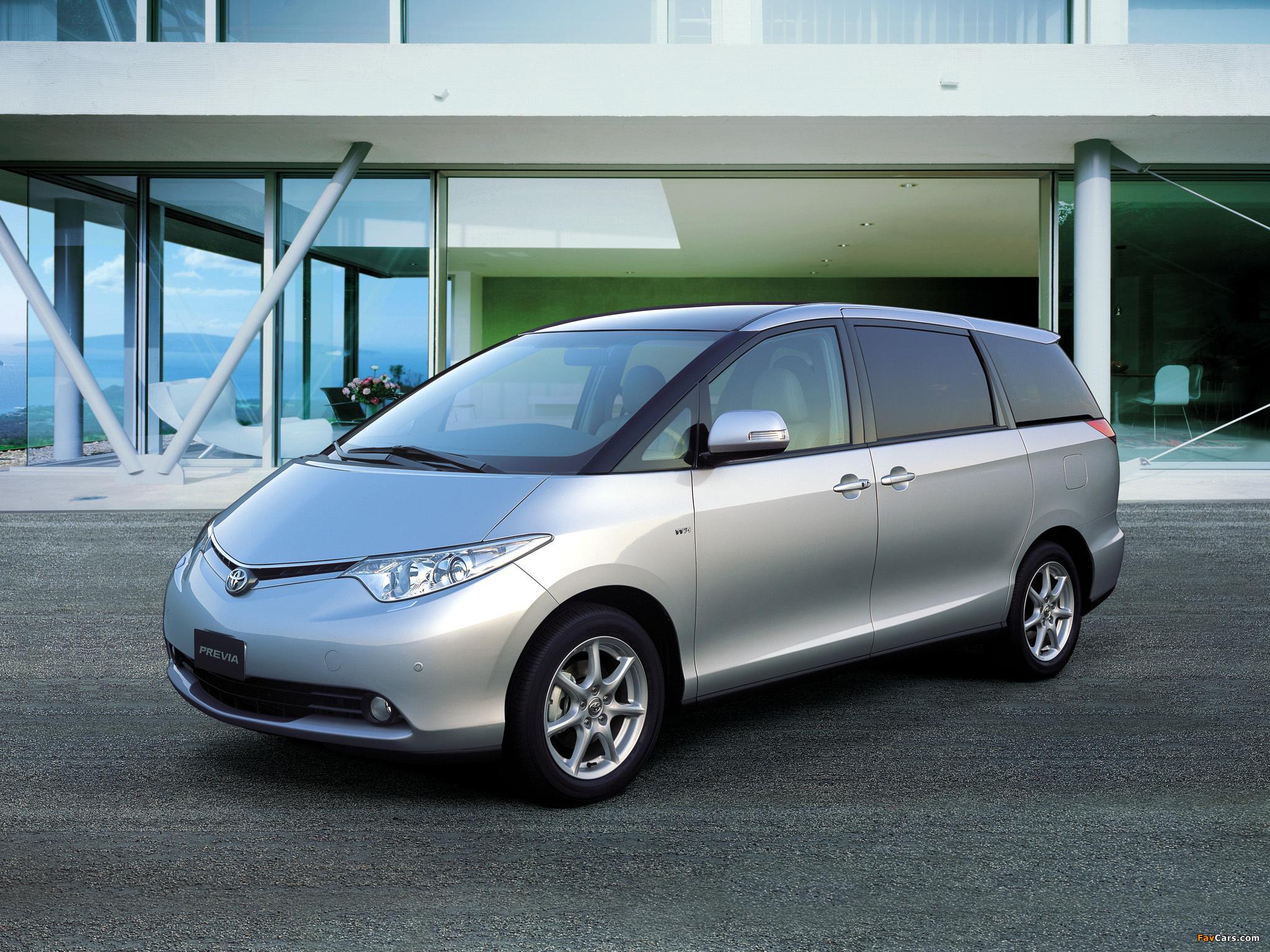 Toyota Previa 2007 images (2048 x 1536)