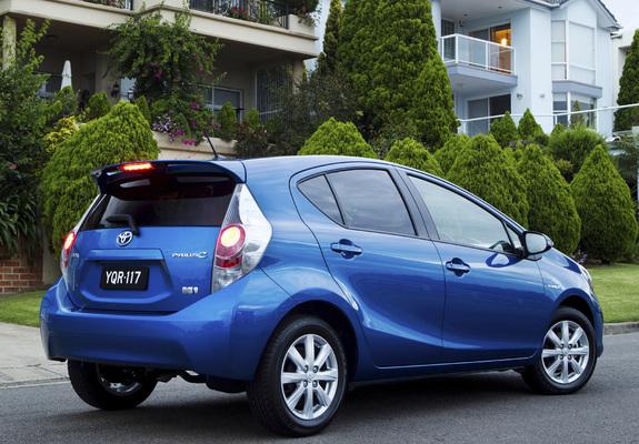 Pictures Of Toyota Prius C Au Spec 2012 640x480