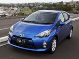 Toyota Prius c AU-spec 2012 wallpapers