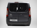 Toyota ProAce Van Long 2013 wallpapers