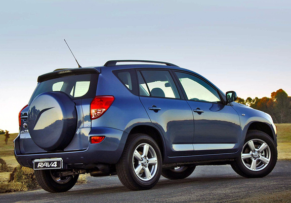 wallpapers of toyota rav4 za spec 2006 08. Black Bedroom Furniture Sets. Home Design Ideas