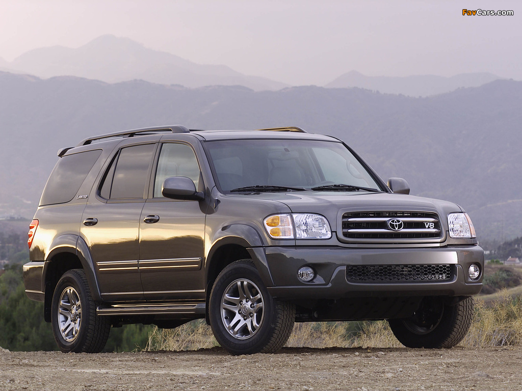 Pictures Toyota Sequoia Limited 2000 05 45971 1024x768