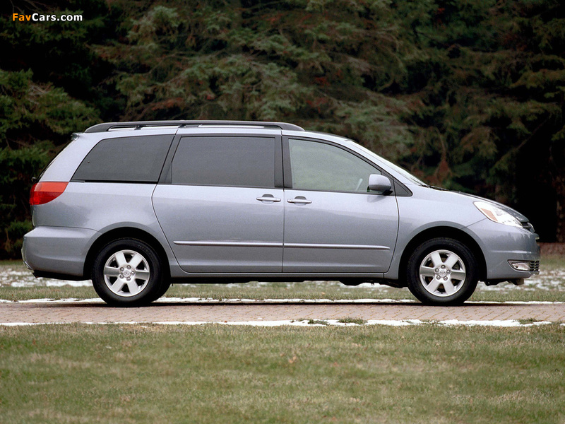 Images Of Toyota Sienna 2004 05 800x600