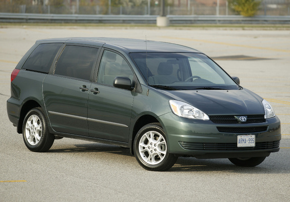 Toyota Sienna 2004 05 Wallpapers 1280x960