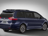 Toyota Sienna Limited (XL30) 2017 wallpapers