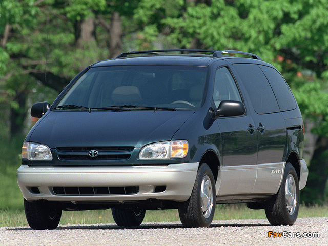 Wallpapers Of Toyota Sienna 1997 2001 640x480