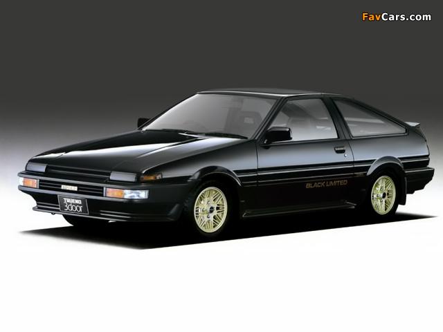 Corolla Ae88 86 Black Limited