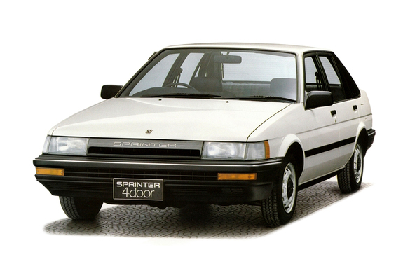Photos Of Toyota Sprinter 1300 Reviere Ae81 1983 87