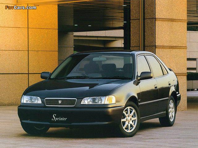 Toyota Sprinter Ae110 1997 2000 Images 640x480