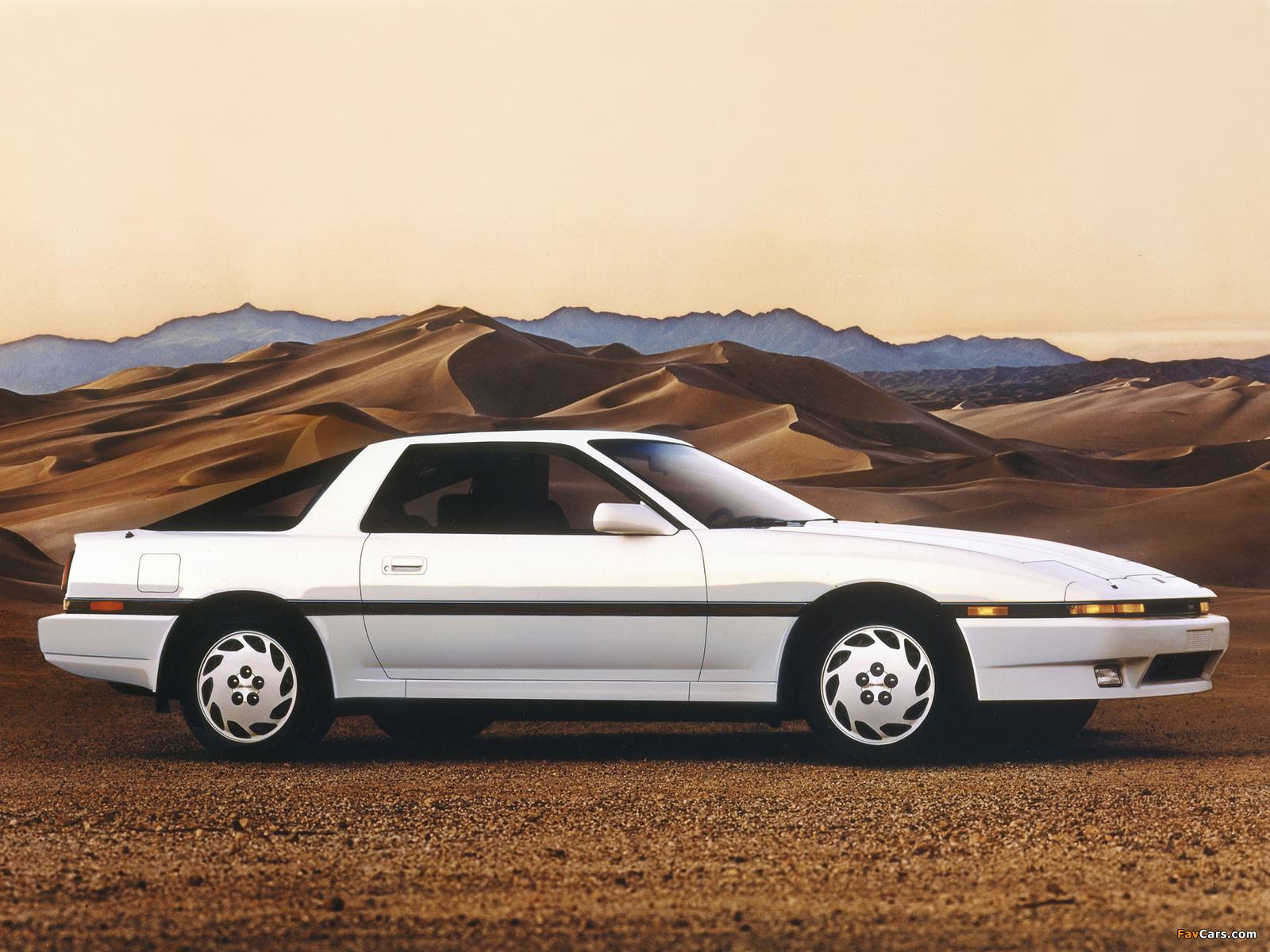 Toyota Supra 3 0 Sports Liftback Us Spec Ma70 1986 89