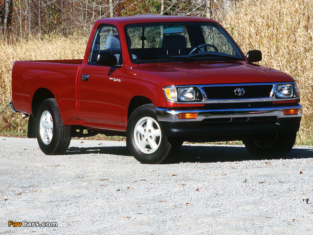 Images Of Toyota Tacoma Regular Cab 2wd 1995 98 640x480