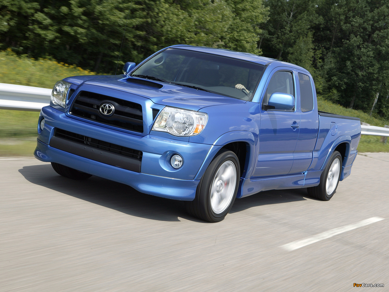 Images of Toyota Tacoma X-Runner Access Cab 2006–12 (1280x960)
