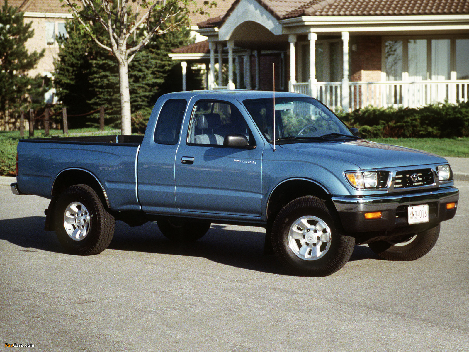 Toyota Tacoma Xtracab 4WD 1995–98 images (1600 x 1200)