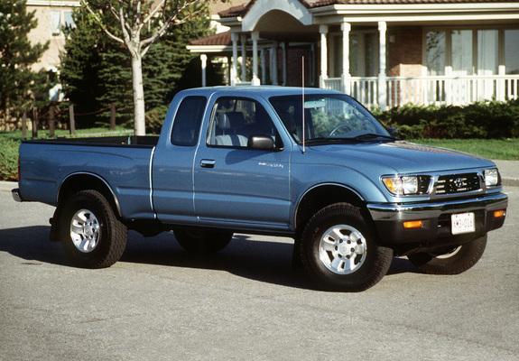 Toyota Tacoma Xtracab 4wd 1995 98 Images