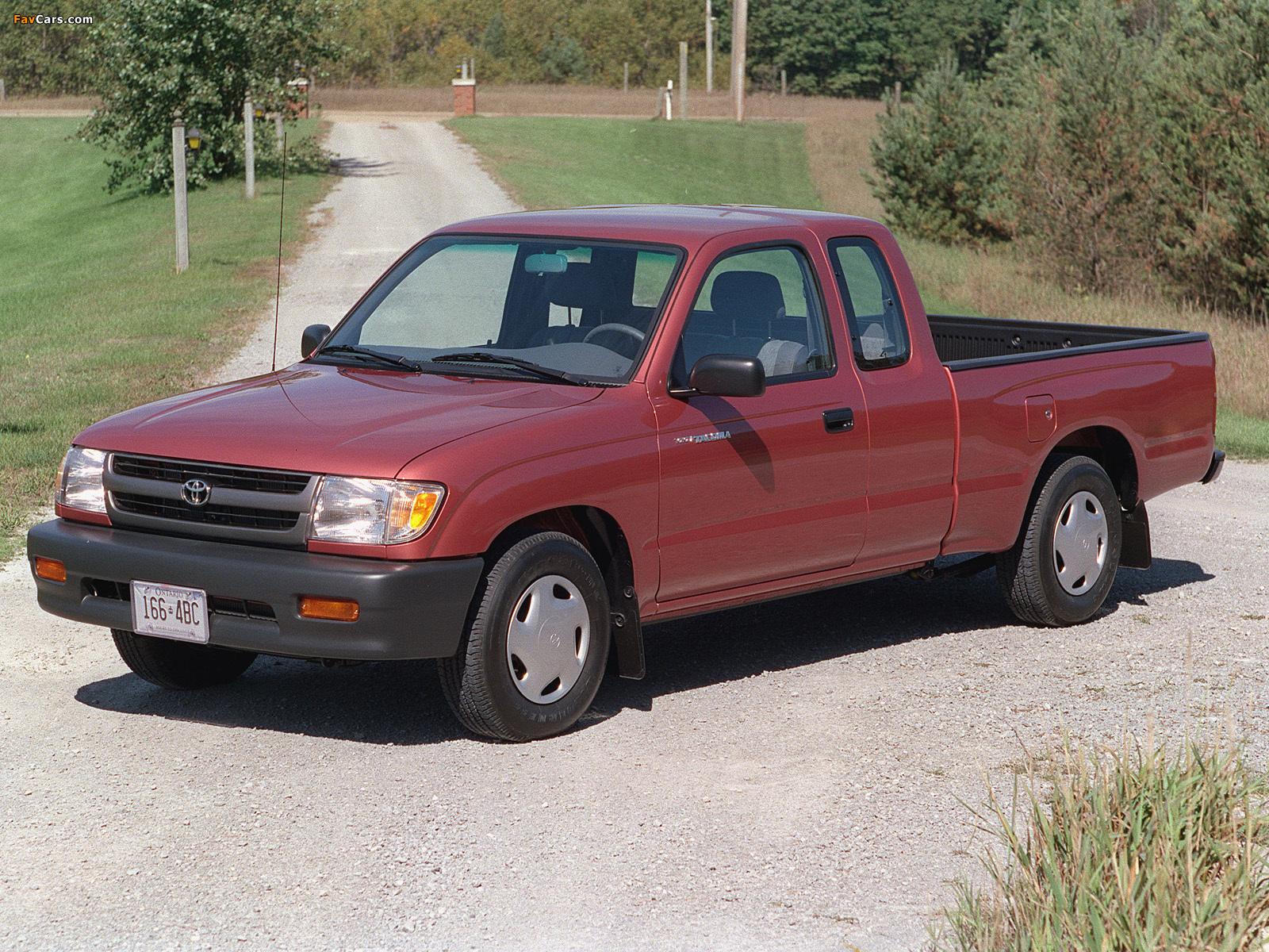 1998 Toyota Tacoma 2wd Toyota Tacoma Xtracab 2wd