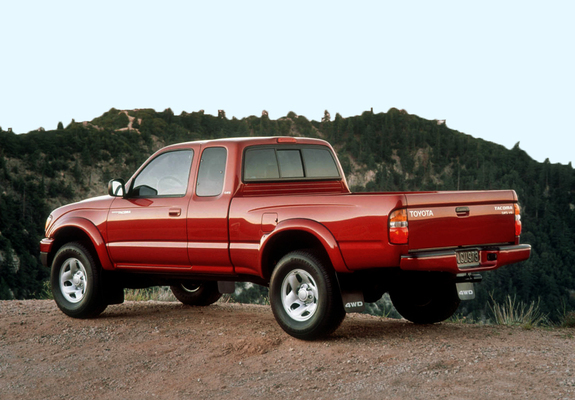 Wallpapers Of Toyota Tacoma Sr5 V6 4wd Xtracab 2001 04