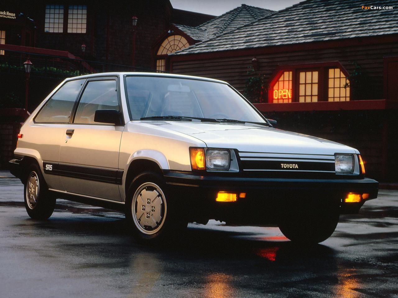 Toyota Tercel Sr5 1983 87 Wallpapers 1280x960
