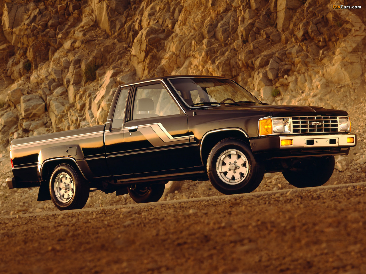 Images Of Toyota Truck Xtracab 2wd 1984 86 1280x960