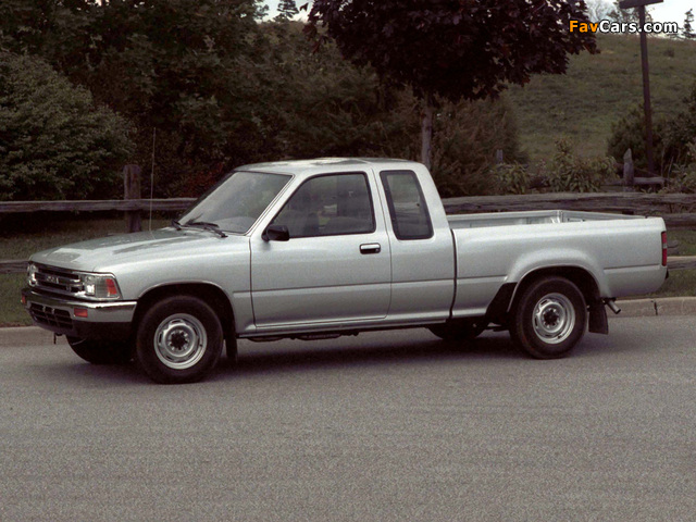 Photos of Toyota Truck Xtracab 2WD 1988–95 (640x480)