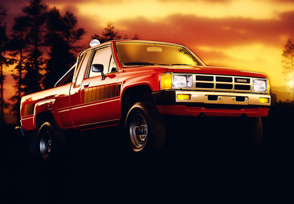 toyota truck xtracab 4wd 1984 86 wallpapers 1600x1200. Black Bedroom Furniture Sets. Home Design Ideas