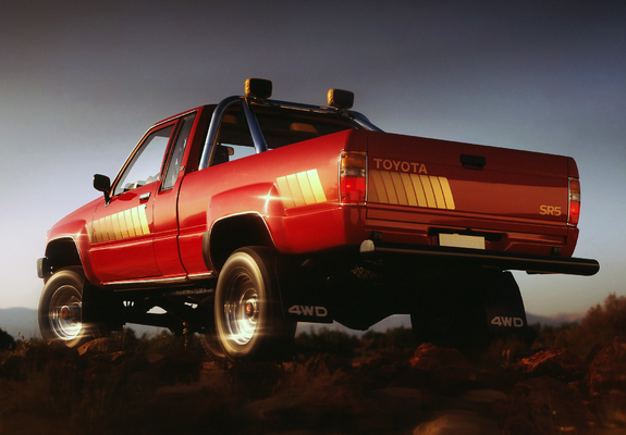 wallpapers of toyota truck xtracab 4wd 1984 86. Black Bedroom Furniture Sets. Home Design Ideas