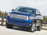 Pictures of Toyota Tundra CrewMax Platinum Package 2013
