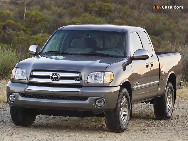 Toyota Tundra Access Cab SR5 2003–06 images (640x480)