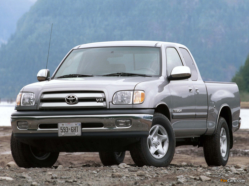 Toyota Tundra Access Cab Sr5 2003 06 Pictures 1024x768
