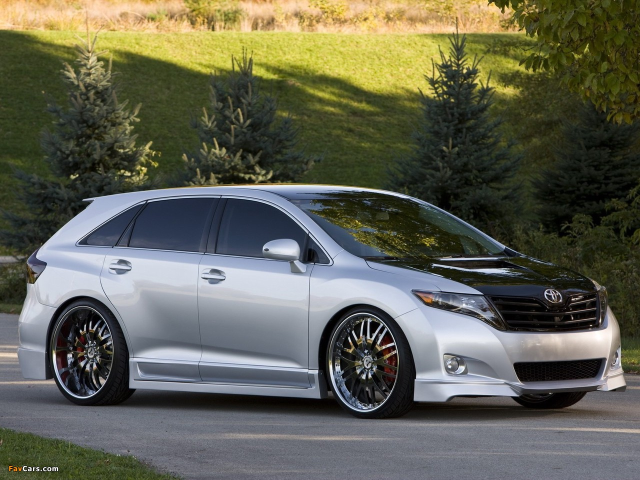 TRD Toyota Venza Sportlux Street Image Concept 2008 pictures (1280x960 ...