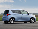 Toyota Verso-S UK-spec 2010 wallpapers