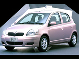 Toyota Vitz 5-door 2001–05 wallpapers