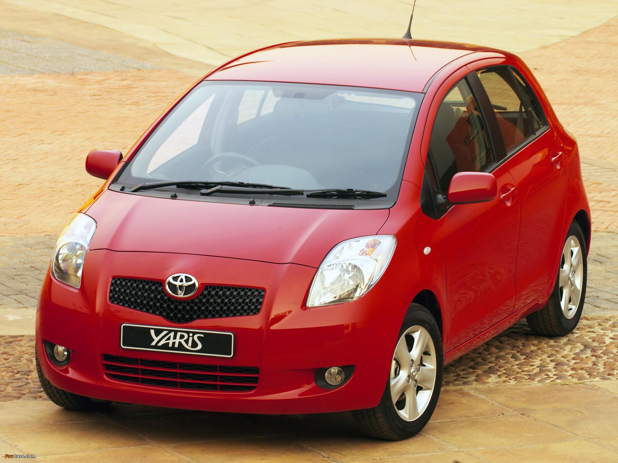 Toyota Yaris 5 Door Za Spec 2005 09 Wallpapers 2048x1536
