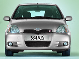 Toyota Yaris T-Sport 2001–03 wallpapers