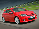 Photos of Vauxhall Astra VXR 2005–10