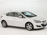 Photos of Vauxhall Astra SRi 2012–15
