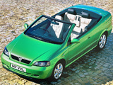 Vauxhall Astra Cabrio 2001–06 wallpapers
