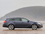 Vauxhall Insignia Sports Tourer 2008–13 wallpapers