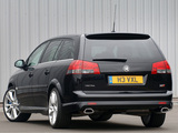 Pictures of Vauxhall Vectra VXR Estate (C) 2006–09
