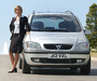 Images of Vauxhall Zafira 1999–2005