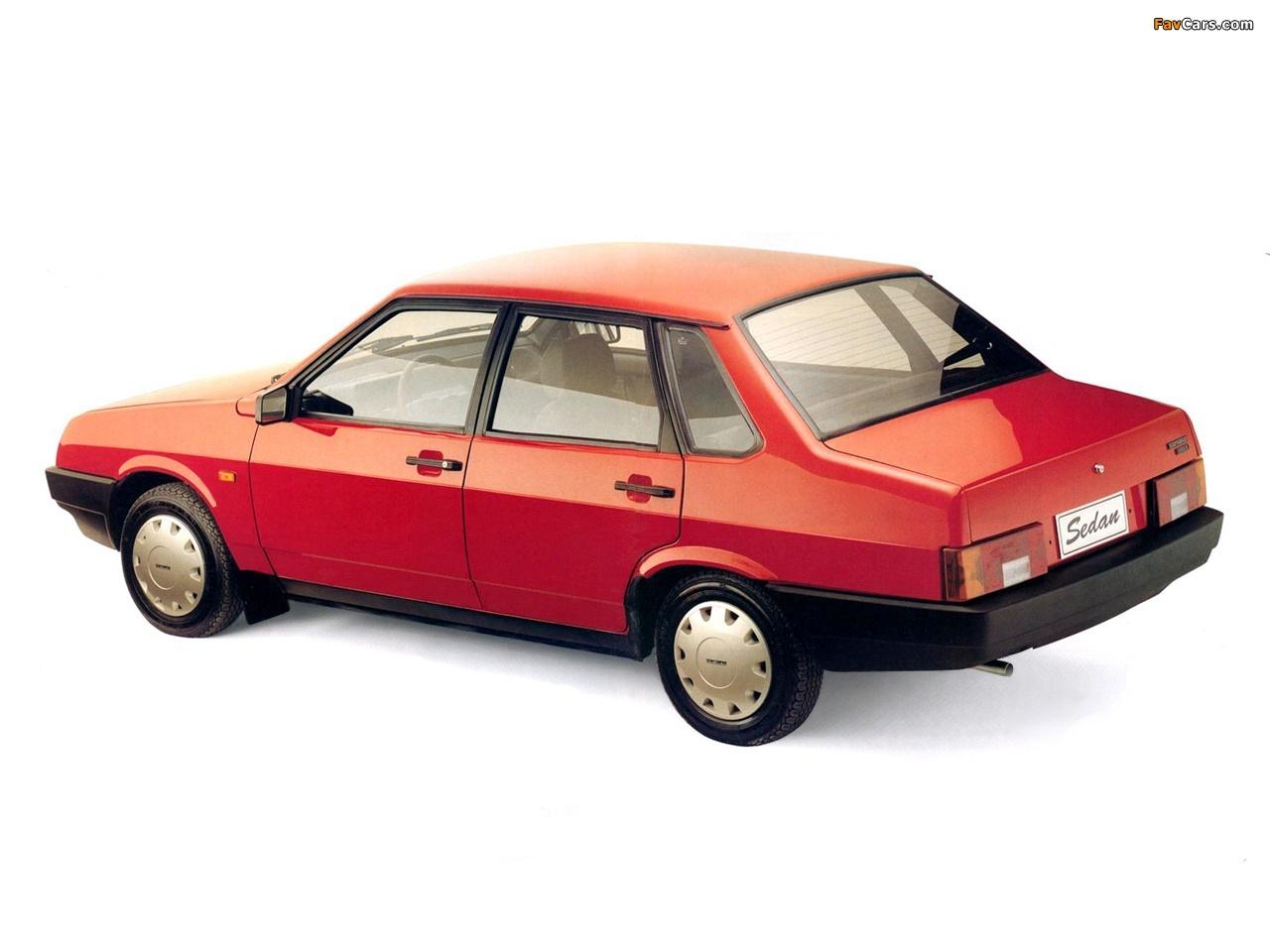 Lada Samara Sedan 21099 1992 99 Pictures 1280x960