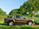 Volkswagen Amarok Double Cab Highline UK-spec 2010 images
