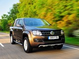 Volkswagen Amarok Double Cab Highline UK-spec 2010 wallpapers