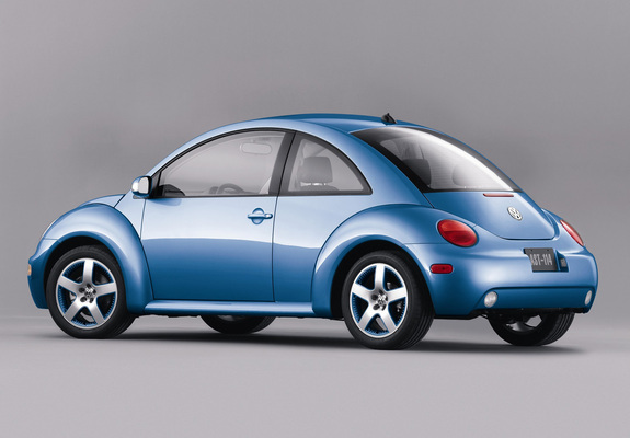 Volkswagen New Beetle Satellite Blue 2004 Pictures 1600x1200