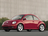Volkswagen New Beetle US-spec 2006–10 pictures
