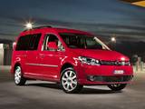 Images of Volkswagen Caddy Maxi Life AU-spec (Type 2K) 2010