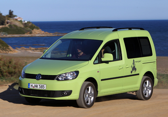 volkswagen caddy tramper type 2k 2010 wallpapers. Black Bedroom Furniture Sets. Home Design Ideas