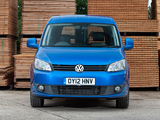 Volkswagen Caddy Kasten UK-spec (Type 2K) 2010 wallpapers