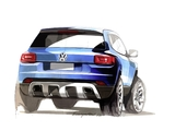 Sketch Volkswagen Taigun Concept 2012 photos